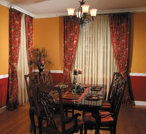 Custom Draperies & Curtains